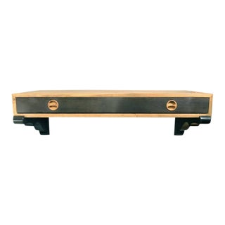 Harvey Probber Rosewood Wall-Mounted Console