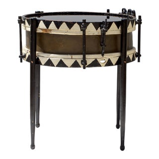 Drum Form Side Table Late 19th Century For Sale