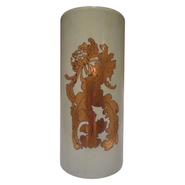 Vintage German Porcelain Gilt Vase - Image 1 of 7