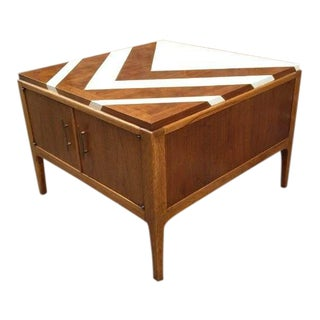 Mid-Century Modern Lane Square Commode/Coffee Table For Sale