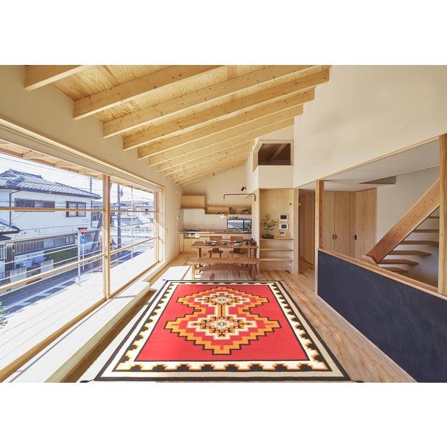 "Navajo Decorative Hand-Woven Rug - 7'11"" X 10'1"" - Image 3 of 3"