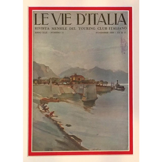 1936 Italian Travel Advertisement, Le Vie d'Italia For Sale - Image 4 of 4