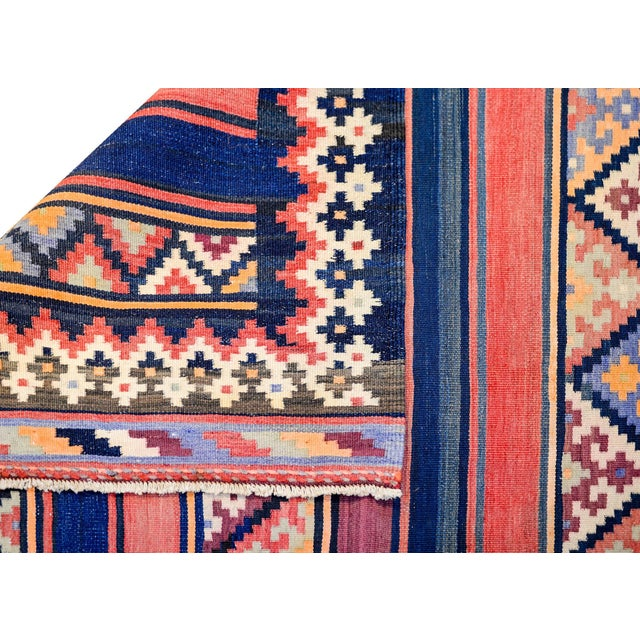 Textile Early 20th Century Zarand Kilim Rug For Sale - Image 7 of 8