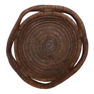 Indian American Handmade Basket Bowl For Sale