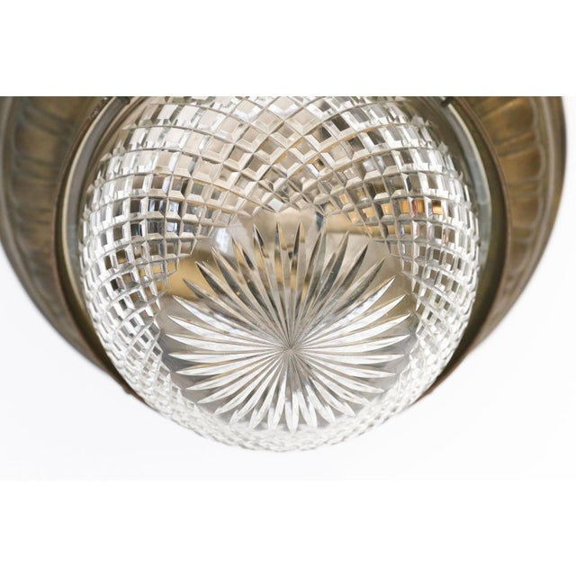Repousse Flush Mount Light For Sale - Image 9 of 11