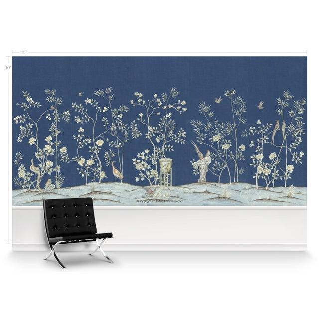 Casa Cosima Casa Cosima Royal Brighton Wallpaper Mural - Sample For Sale - Image 4 of 6