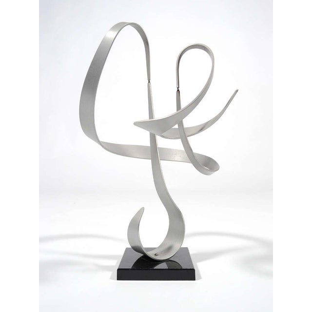 Kinetic Abstract Sculpture by John Anderson - Image 5 of 11