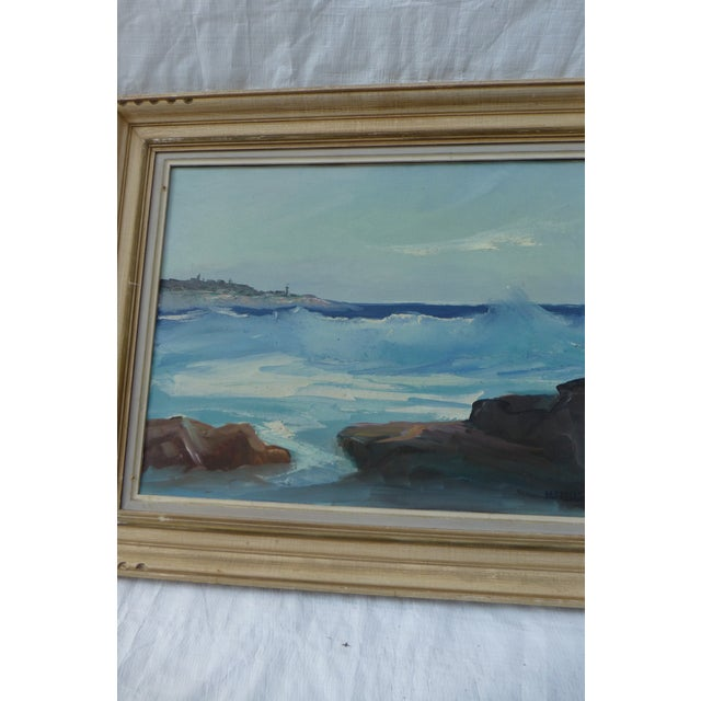 M. F. Musgrave Rockport Painting - Image 4 of 8