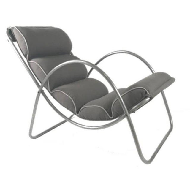 Art Deco lounge chairs made by the Halliburton Company. Richard Neutra used examples of these chairs for some of his...