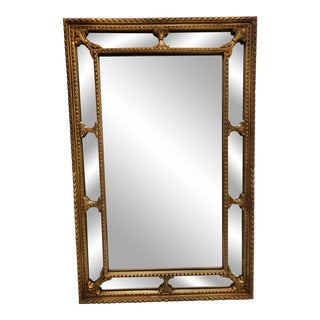 1970s Antique Gold Gilt Mirror For Sale