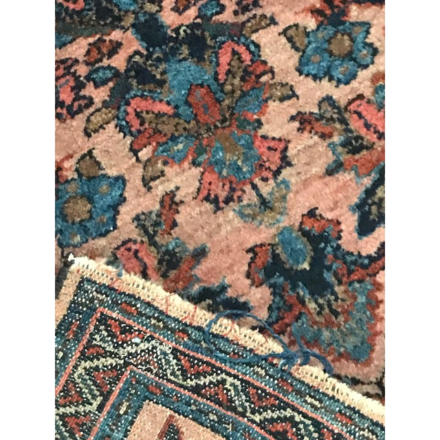 Antique Persian Lilihan Rug - 2′2″ × 3′ - Image 7 of 8