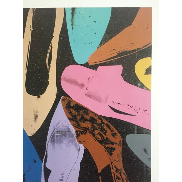 "Andy Warhol Andy Warhol ""Diamond Dust Shoes"" Offset Lithograph For Sale - Image 4 of 9"