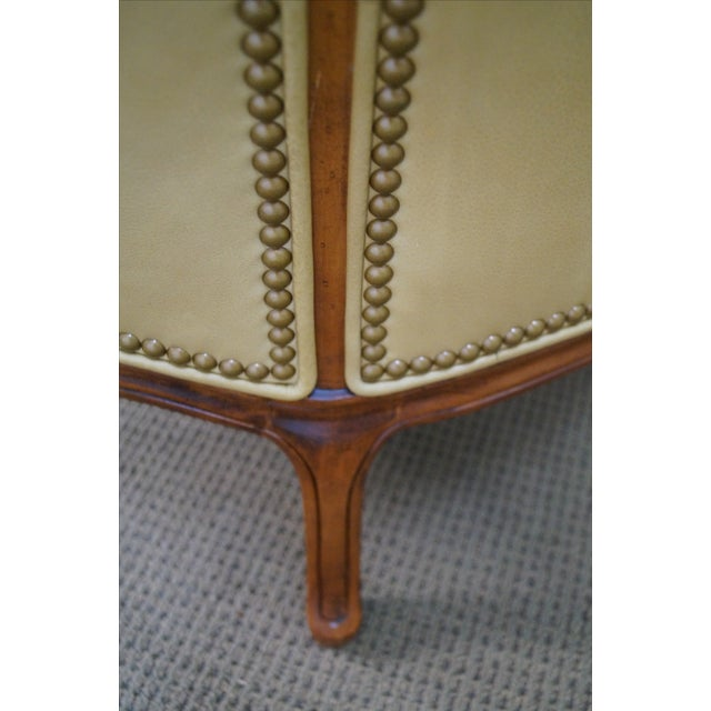 Hancock & Moore Louis XV Wing Bergere Chair - Image 2 of 10