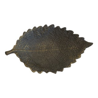 Metal Leaf Mini Tray For Sale