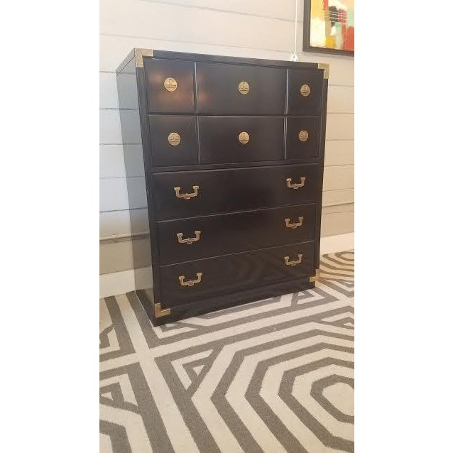 Huntley by Thomasville 5-Drawer Campaign Dresser - Image 3 of 9