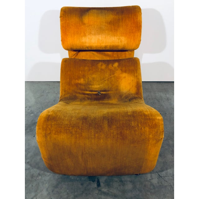 """Contemporary Jan Ekselius for j.o. Carlsson """"Etcetera"""" Lounge Chair, Vintage 1970s For Sale - Image 3 of 11"""