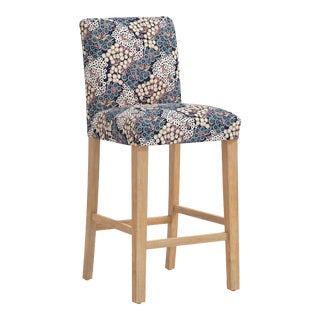 Bar stool in Loiret Navy Blush For Sale
