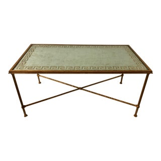 Italian Hollywood Regency Style Coffee Table