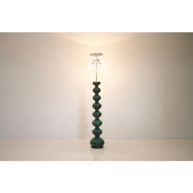 Mid-Century Modern Ceramic Floor Lamp by Kaiser Germany, 1960s For Sale - Image 3 of 9