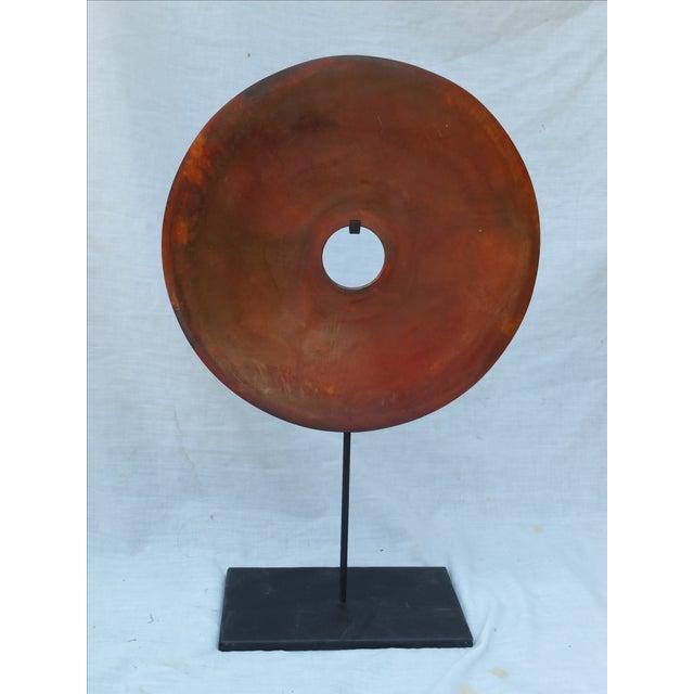 Chinese Stone Bi Disk - Image 2 of 6