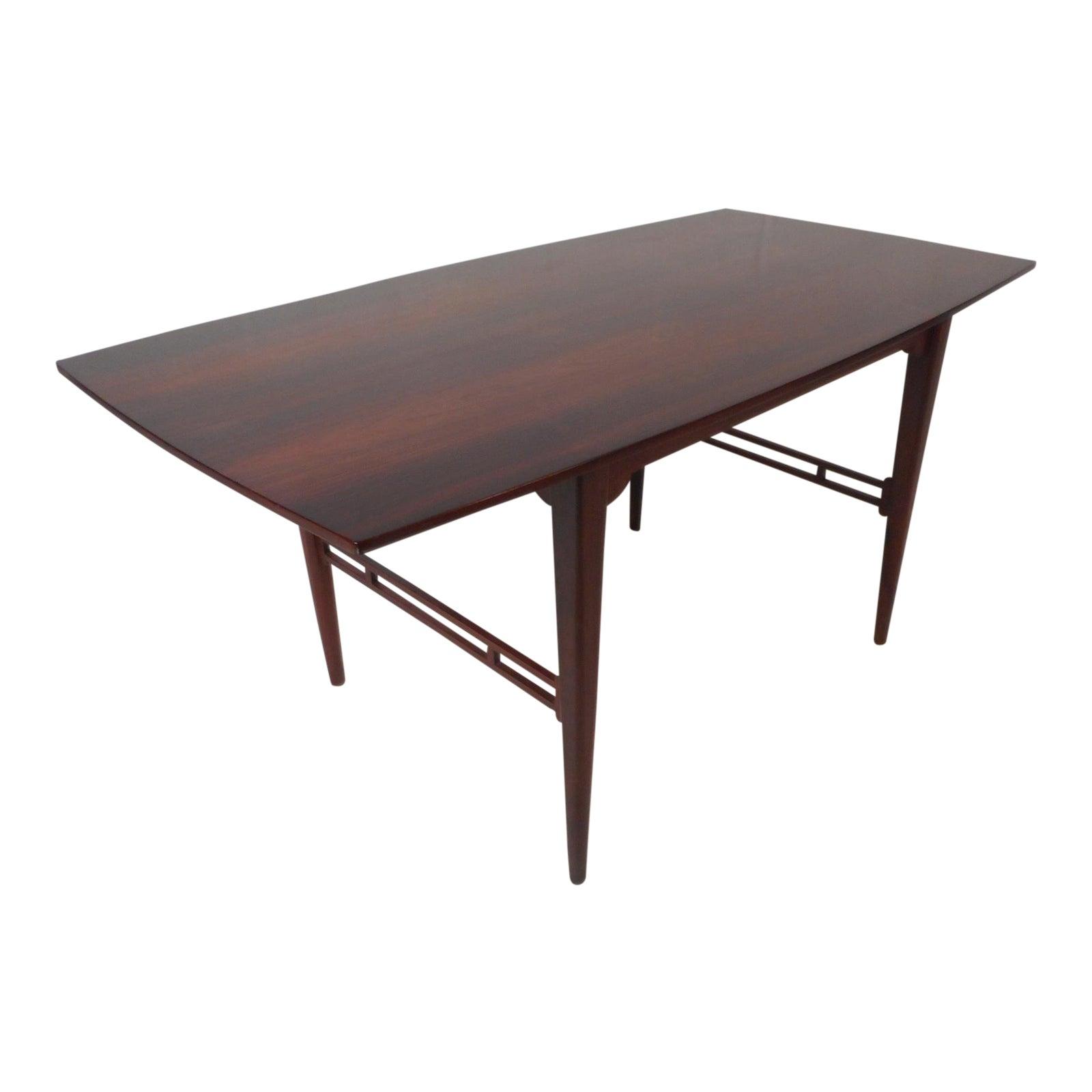 Danish Midcentury Illums Bolighus Rosewood Coffee Table Chairish