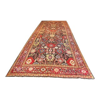 Early 20th Century Antique Caucasian Karabagh Rug - 6′8″ × 18′ For Sale