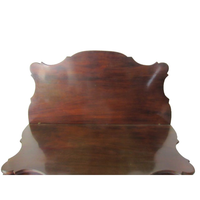 Brass Mahogany American Game Table C. 1810 For Sale - Image 7 of 7