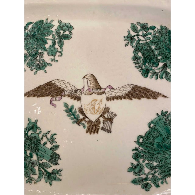 Early 20th Century Green Chinese Fitzhugh Tureen and Under Plate For Sale In Dallas - Image 6 of 9