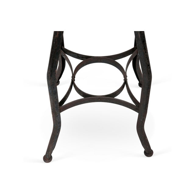 Industrial XL Classic Industrial Stool For Sale - Image 3 of 3