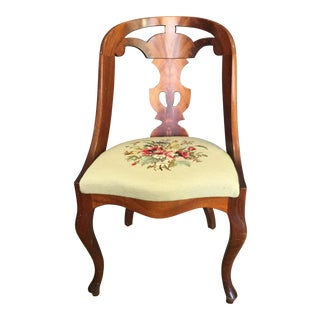 Traditional Gothenburg Style Swedish Accent Chair