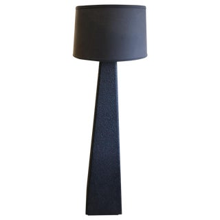 Late 20th Century Textured Floor Lamp For Sale