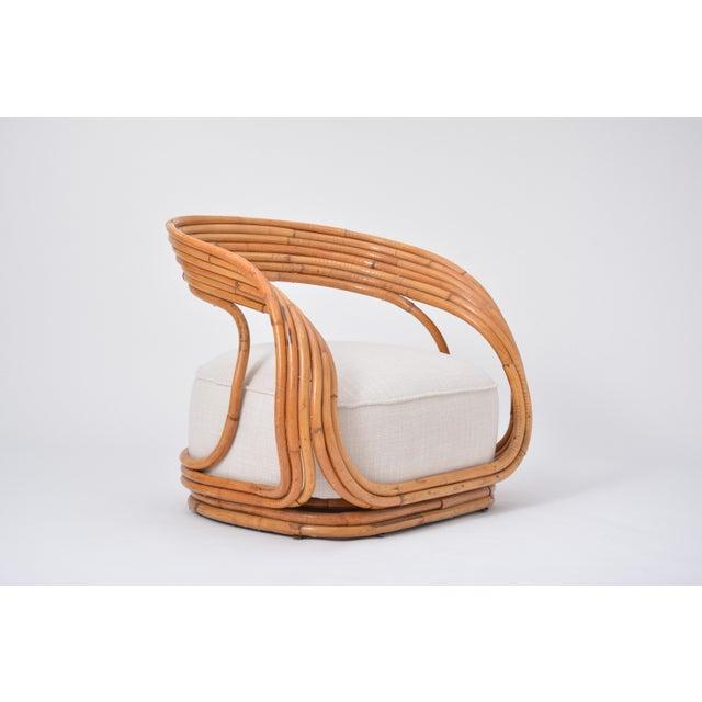Eva Armchair Designed by Giovanni Travasa for Vittorio Bonacina For Sale - Image 6 of 12