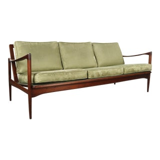Kandidaten Three Seater Sofa by Ib Kofod-Larsen for Olof Person, Denmark For Sale