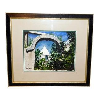 Carol Ann Girvin Original Watercolor For Sale
