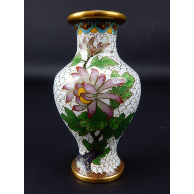 Chinese Cloisonn Vase Chairish