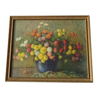 Carle J Blenner Floral Arrangement Print For Sale