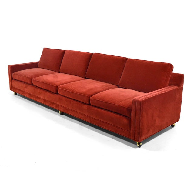 Harvey Probber Harvey Probber Double Arm Sofa For Sale - Image 4 of 10