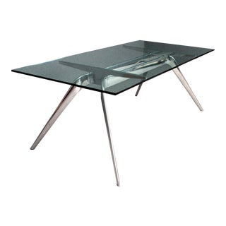 Industrial Fritz Hansen Dining Table For Sale