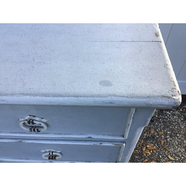 Antique French Provincial Painted Chest For Sale In Tampa - Image 6 of 11