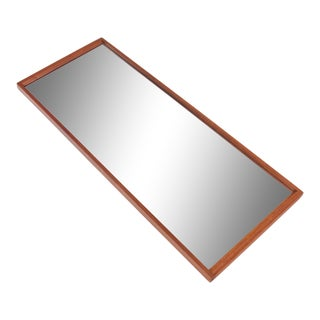 Aksel Kjersgaard Mid Century Teak Wall Mirror #2 For Sale