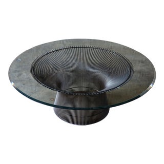 Warren Platner Bronze Coffee Table for Knoll Circa 1965 For Sale