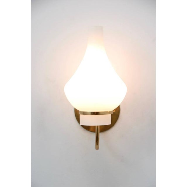 Modern Italian 1950s Sconces - Image 5 of 9