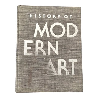 1970s Vintage History of Modern Art Coffee Table Book For Sale