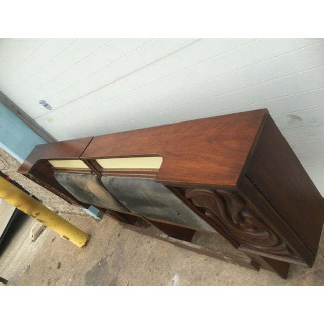 Witco Mid -Century King Size Headboard - Image 6 of 6