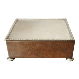 Sterling Box For Sale