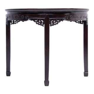 19th Century Chinese Demi-Lune Table For Sale