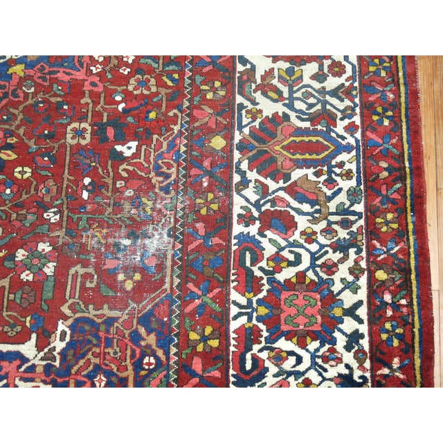 Antique Persian Bakhtiari Rug - 12'3'' X 18'2'' - Image 6 of 9