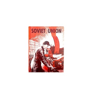 Vintage Soviet Union History Children's Book For Sale