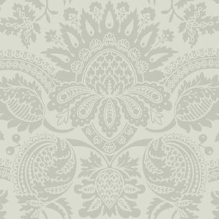 Cole & Son Dukes Damask Wallpaper Roll - Old Olive For Sale