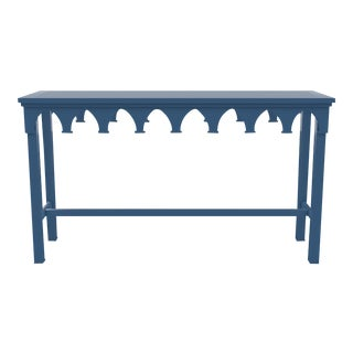 Oomph Ocean Drive Outdoor Console Table, Blue For Sale